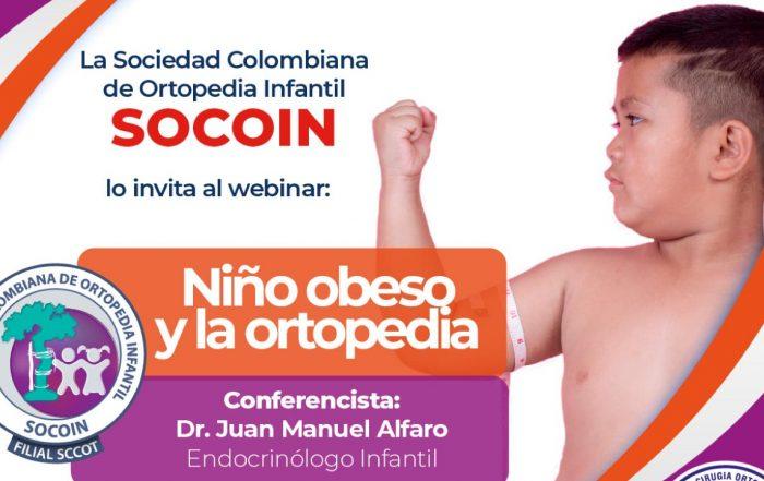 Webinar niño obeso y la ortopedia – SOCOIN